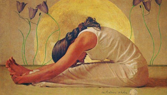 Padahastasana - Die Stellung der Rückendehnung