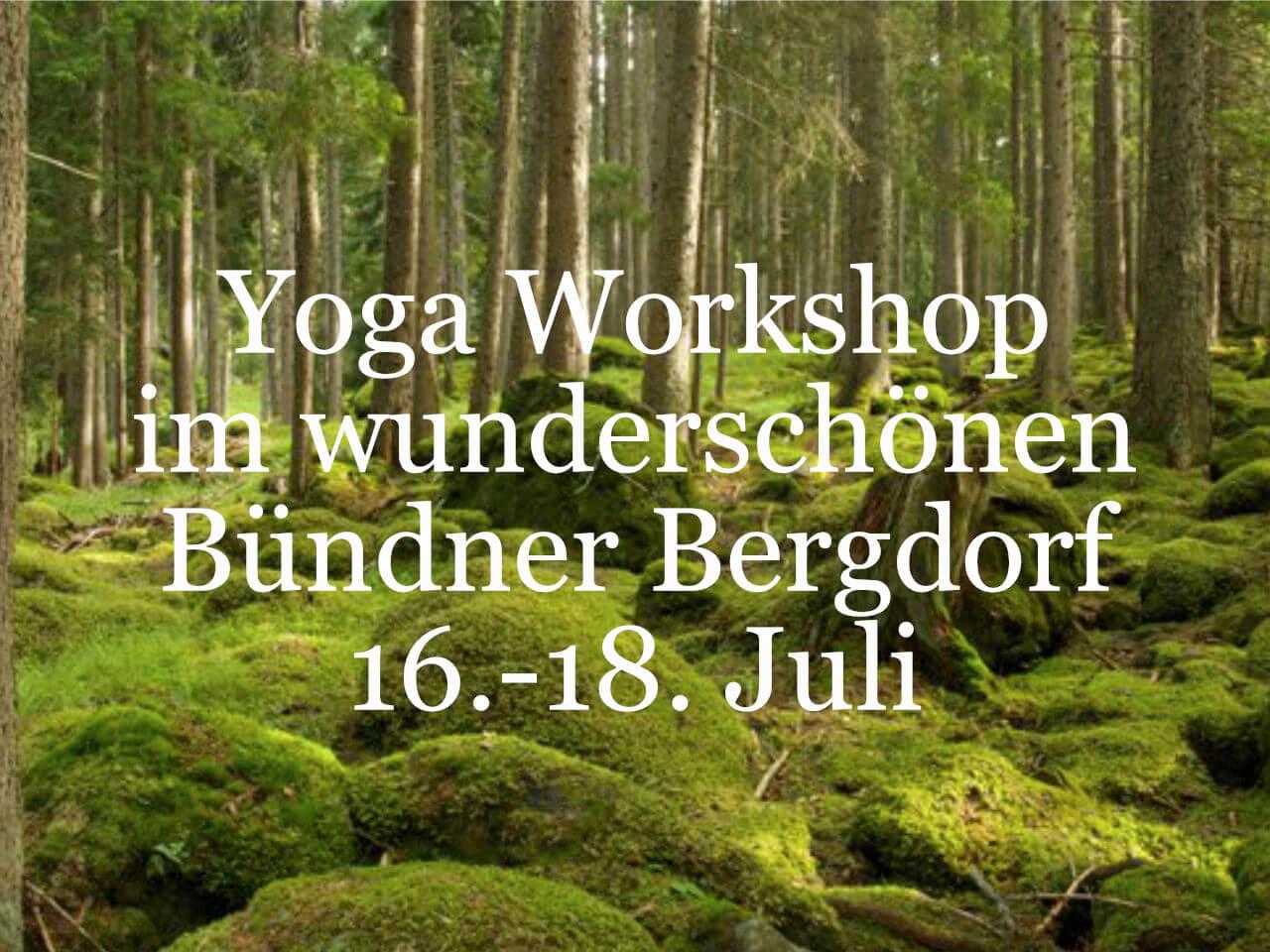 Yoga Workshop Yoga Spirit